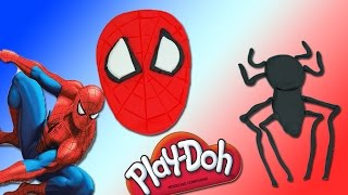 Spiderman Play Doh Head Playdough Spider Logo Toys