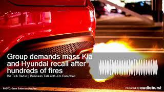 Group demands mass Kia and Hyundai recall after hundreds of fires