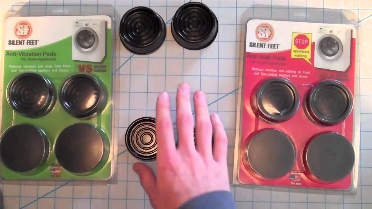 washing machine vibration isolators