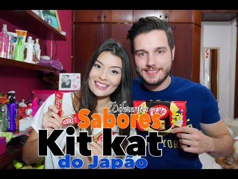 Diferentes Sabores de Kit Kat do Japão
