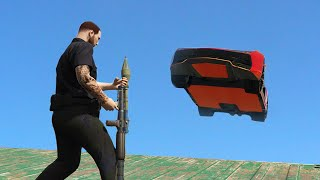 RPG vs. STUNTERS! - (GTA 5 Funny Moments)