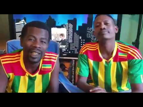 Comedian Tariku 80 And Bini Dana NewYear Message