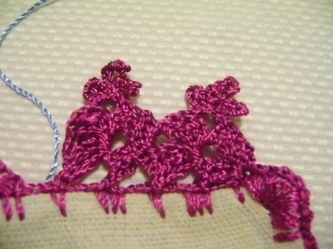 Explicacion del camino de mesa mexicano en crochet youtube for Camino de mesa a crochet