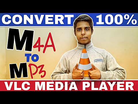 How To Convert M4A To MP3 Using Vlc Media Player 100% Working | M4a To Mp3 Converter 2018 Video