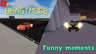 Stunts, Funny moments and glitches + BEASTMODE | ROBLOX Vehicle Simulator