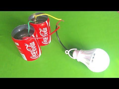 Free energy light bulb using salt thumbnail