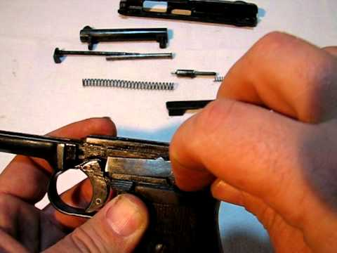 Mauser 1914 - Field-Strip/Take-down/disassembly. (2/3)