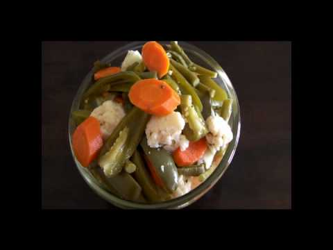Chiles en Vinagre con Vegetales * video 59 *