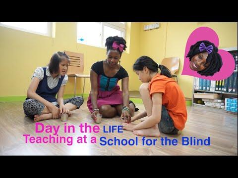 Day in the Life: EPIK Teacher at School for the Blind in Korea