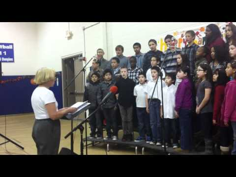 I'LL MAKE A DIFFERENCE sang by the Antelope Valley Adventist School Choir. 11-16-2011 - 11/19/2011