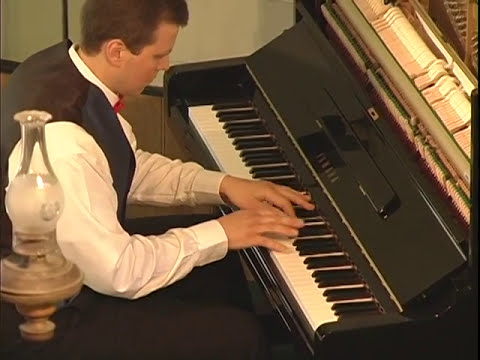 Doug Jones Playing Piano: SONATINA #3 by DENES AGAY