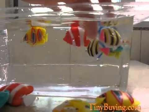 50pcs Plastic Artificial Fish Ornament Decoration For