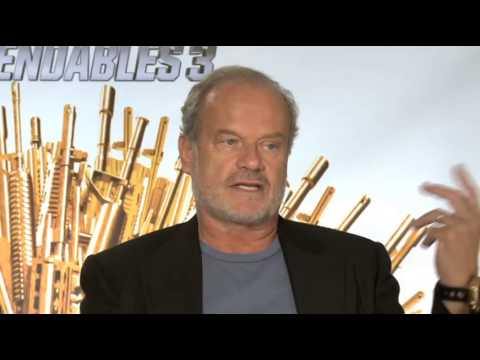 "Kelsey Grammer and Randy Couture Talk About ""The Expendables 3"""