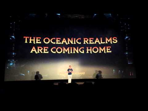Oceanic WoW servers announcement from Blizzard ANZ