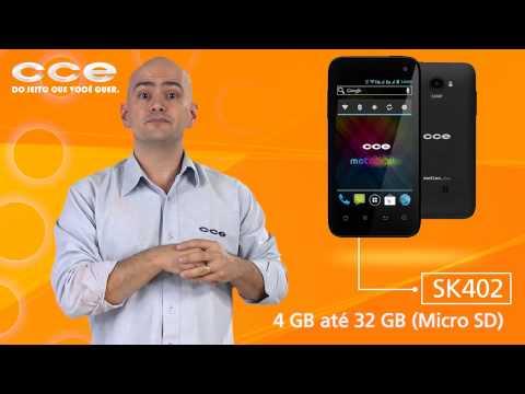 Smartphone CCE MotionPlus SK402 com Qualcomm® Snapdragon™