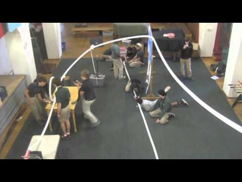90 Foot Super-Sized Marble Run at Pacific Boychoir Academy