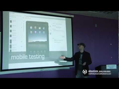 Mobile Design and Development Open House Part 7