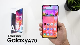 Samsung Galaxy A70 Unboxing And Overview I ViVO V15 Pro Killer.?