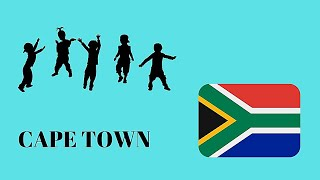 Young boys and girls dance in South Africa (Cape Town)