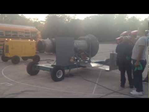 Atlanta Technical College Students Run J34 Turbine Engine