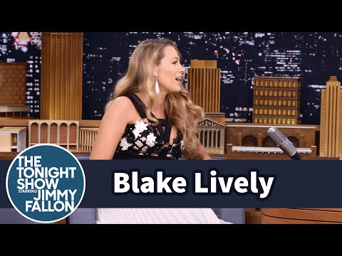 Blake Lively Calls Jimmy Fallon Her Dada