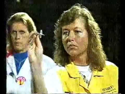 Darts Ladies World Masters 1995 Semi Final Hoenselaar vs Bromberg