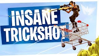 The Shopping Cart Bouncer No Scope for the Win! - Fortnite Insane Game Winner