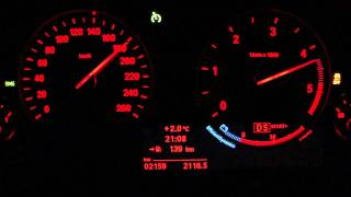New BMW X3 xDrive 20d F25 (2011) 0-200 km/h acceleration