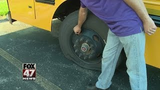 Bus vandals cancel first day of school