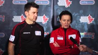 Draw 2 Media Scrum - 2013 WFG Continental Cup
