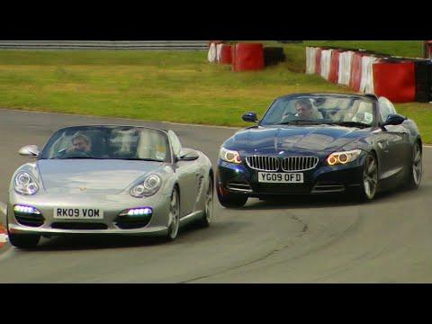 Porsche Boxster S Versus BMW Z4