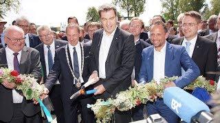 Eröffnung Landesgartenschau Wassertrüdingen