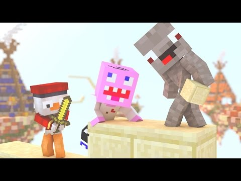 DERPY BABY BEDWARS GAME XD | Minecraft Baby Adventures