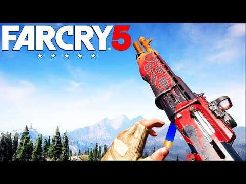 Far Cry 5 ALL Signature Weapons