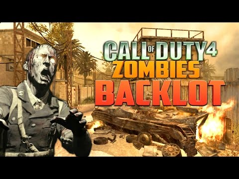CALL OF DUTY 4 ZOMBIES: BACKLOT (Part 2) ★ Call of Duty Zombies Mod (Zombie Games)