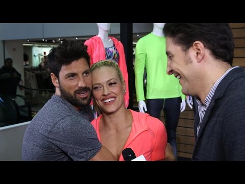 Maksim Chmerkovskiy & Peta Murgatroyd Show off the Xersion at JCPenney Behind The Velvet Rope