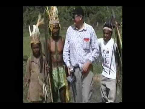 Mangiwau visits remote Kaisenar village in Papua province, Indonesia.