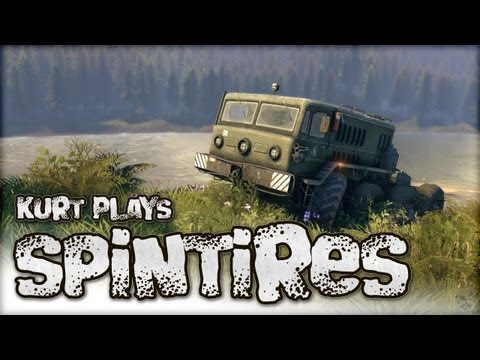 SpinTires Tech Demo 2013 - Kurt Plays in the Mud