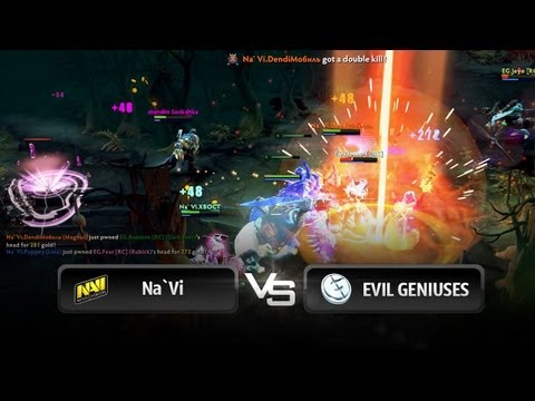 NaVi vs EG teamfight  RaidCall D2L Season 3