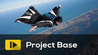 Wingsuit jump in Ethiopia