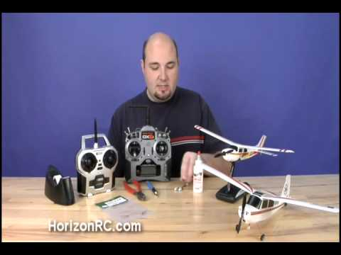 HorizonRC.com How-To: Convert Your ParkZone Micro Cessna or Micro Citabria to  DSM2