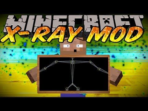 Minecraft Mod - X-RAY MOD !