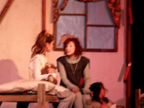 "Marissa in the Lake Mead Christian Academy musical ""Annie""!!!"