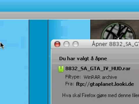 GTA San Andreas - How to install GTA IV Hud Mod