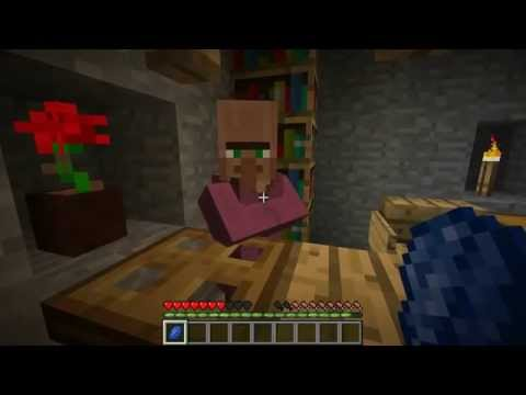 Dos personas adultas jugando a Minecraft