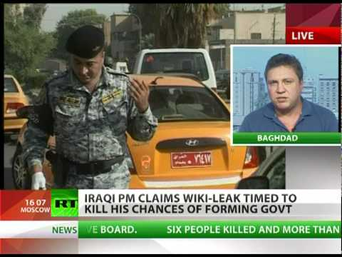 'Bad news norm for Iraq, WikiLeak was no surprise'