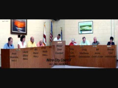 City of Nitro Council Meeting Excerpt