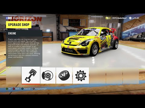 Forza Horizon 2 - 2014 Tanner Foust VolksWagon Beetle GRC