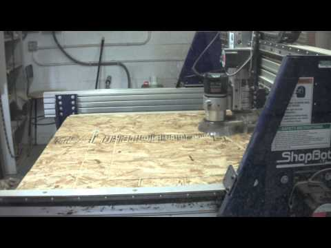 0 CNC router demo