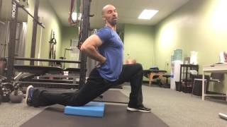 Real vs. BS Hip Flexor Stretch